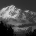 Mighty Mount McKinley in B&W