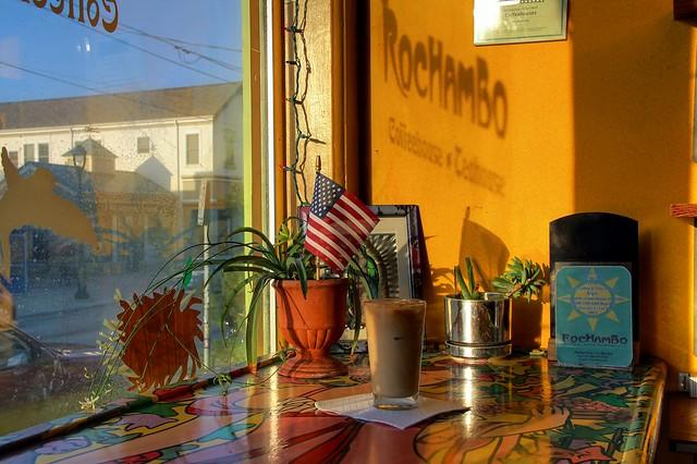 Iced Coffee at Rochambo