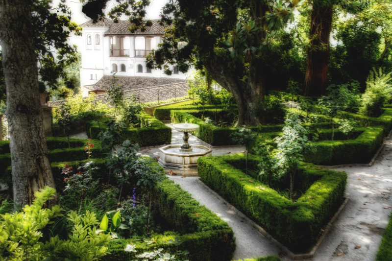 Generalife gardens granada jardines del generalife for Jardines generalife