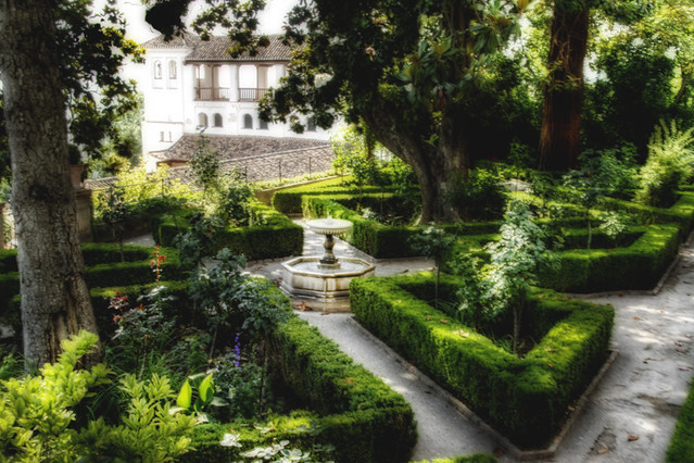 Generalife gardens. Granada. Jardines del generalife.  Flickr - Photo Sharing!