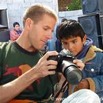 Dan Gives an Impromptu Camera Lesson - Near Salta, Argentina