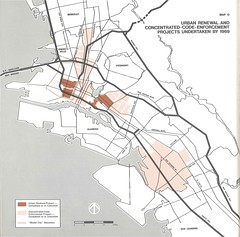 Oakland: Urban Renewal and Concentrated-Code-Enforcement Projects Undertaken by 1969