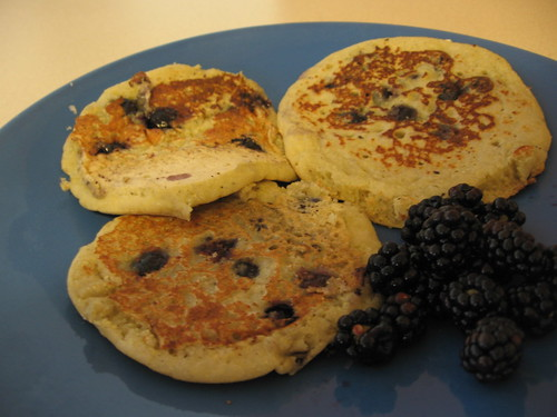 Blueberry Corn Pancakes 02