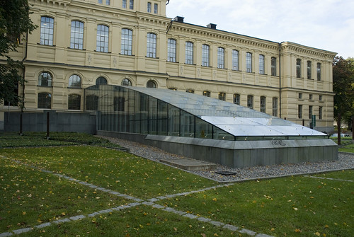 view of the National Library of Sweden