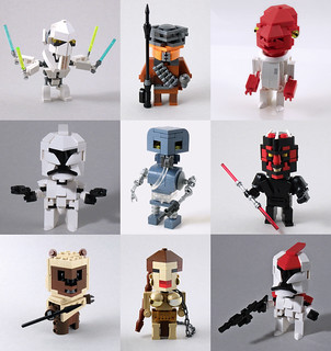 My Star Wars CubeDudes
