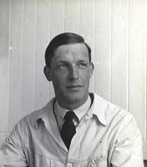 Uidentifisert student ved Bygningsingeniøravdelingen (1940)