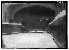Ice in Ferry Slip, 2/18/14  (LOC)