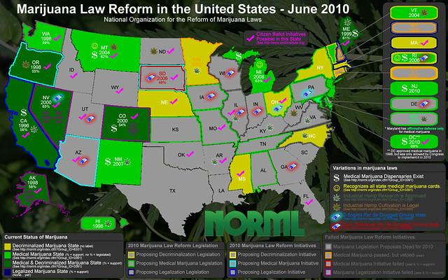 Marijuana Law Reform June 2010 (NORML)