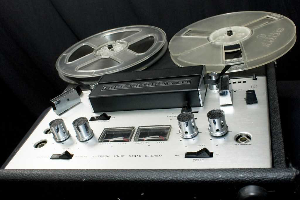 Concertone 790 reel-to-reel tape recorder