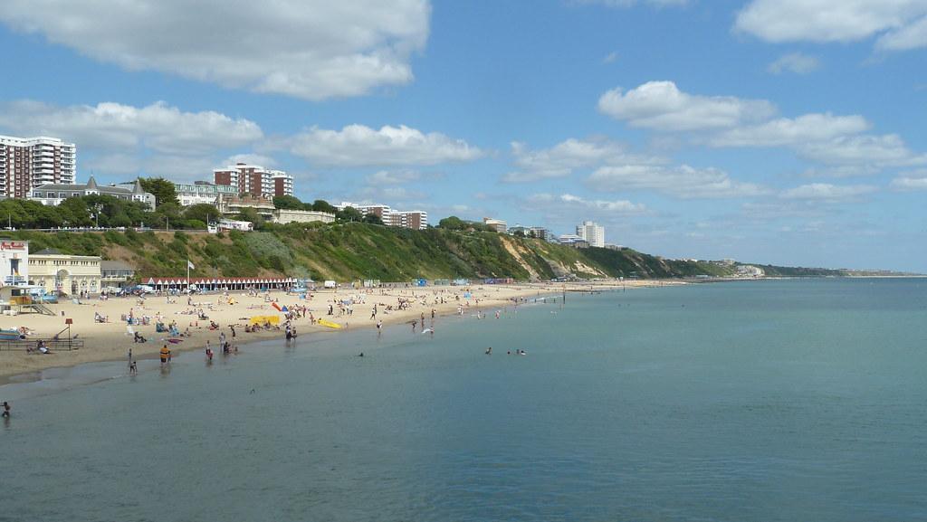 пляж борнмут фото