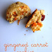 gingered carrot cookies
