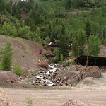 Mining Remnants Near Telluride, Colorado