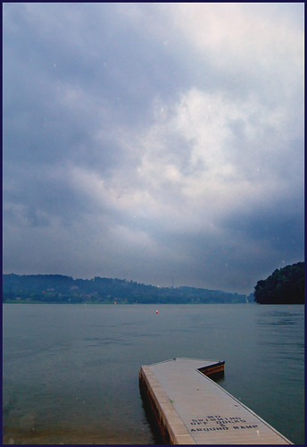 sky lake storm water rain clouds photoshop d50 dock nikon tennessee kingston easttennessee roanecounty capturenx