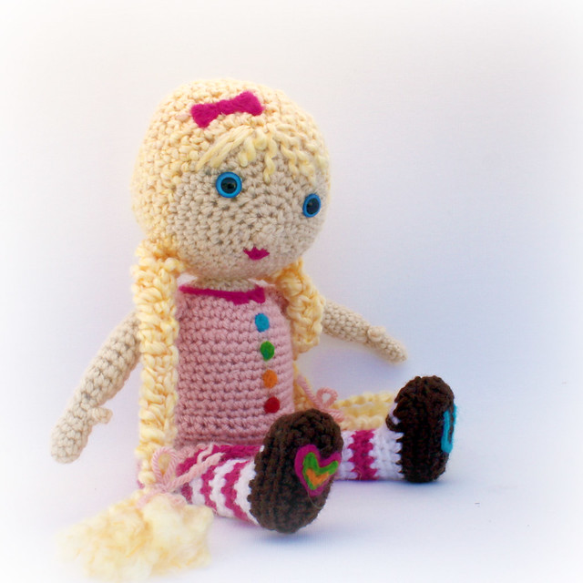 Beginner Crochet Toy Patterns : Free Crochet Pattern Doll Flickr - Photo Sharing!