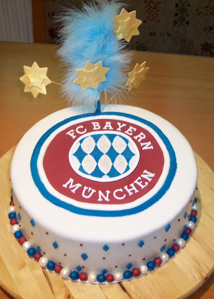 Bayern Mnchen Torte Soccer Cake A Photo On Flickriver