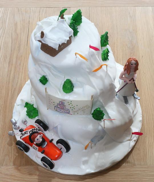 ski cakes
