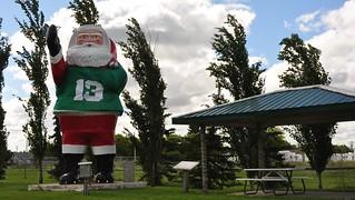 Watson Sask. Santa Town Aug. 15, 2010