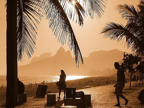 Ipanema - Calçadão de Ipanema - Rio de Janeiro