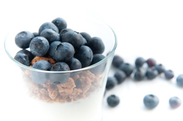 Yogurt Parfait with Blueberries | Flickr - Photo Sharing!