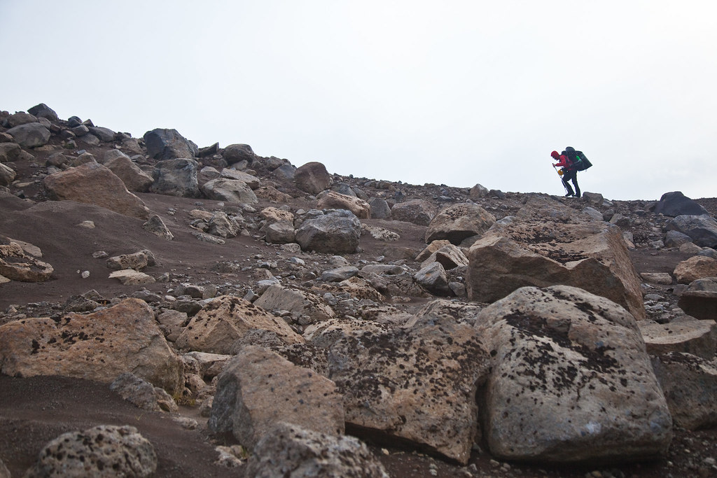 Iceland crossing - climbing up to the highlands