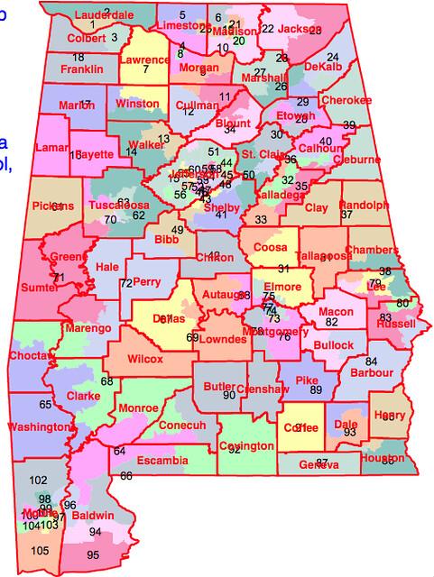 Alabama State House Districts  Flickr  Photo Sharing
