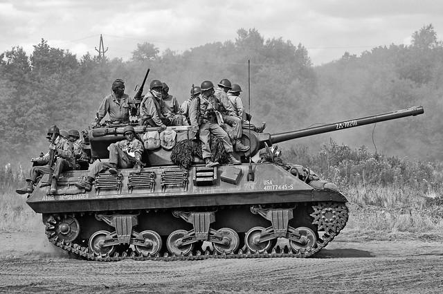 M36 Tank Destroyer In Mono Flickr Photo Sharing