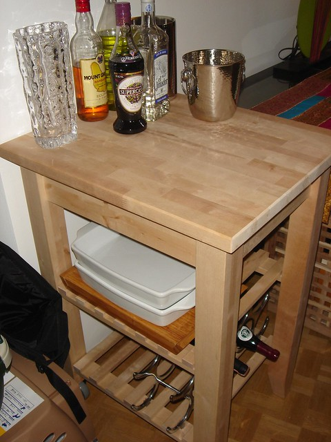 ikea bekvam kitchen trolley flickr photo sharing