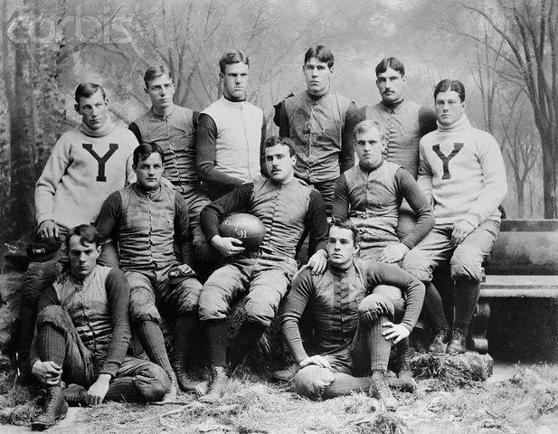 1891 Bulldogs, UNSCORED ON, 488 points to zero, last 3 games against Pen, Harvard and Princeton = 77-0, Heffelfinger, Hinkey and McClung were an Ivy League dream team