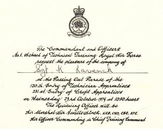 1974 10 23_231 Entry RAF Halton