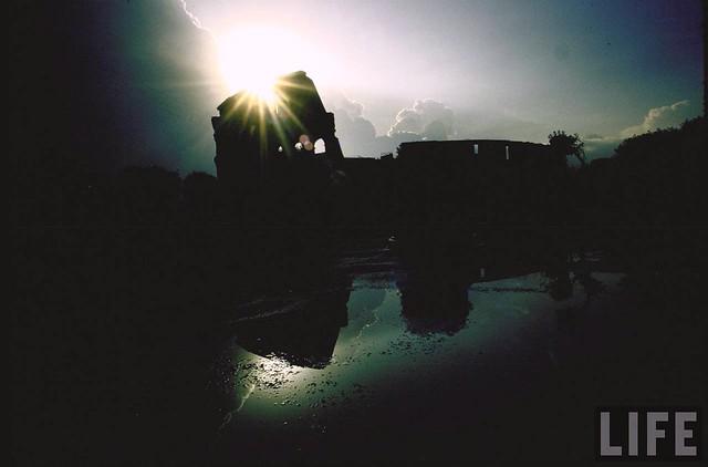 The Colosseum at sunrise, by Gjon Mili 1965