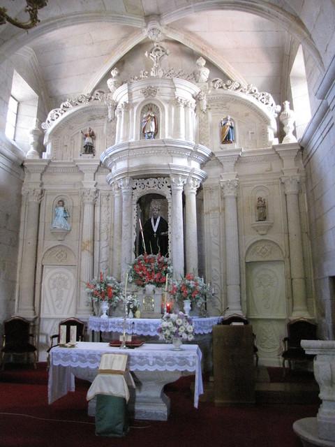 Iglesia de San Benito - Retablo mayor