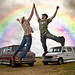 HIGH FIVE RAINBOW by Cyrious Photography