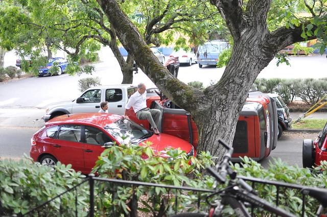 Car Crash Hawthorne September Th