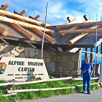 The Alpine Visitor Center - United States Department of the Interior - National Park Service - Rocky Mountains National Park, Colorado - USA