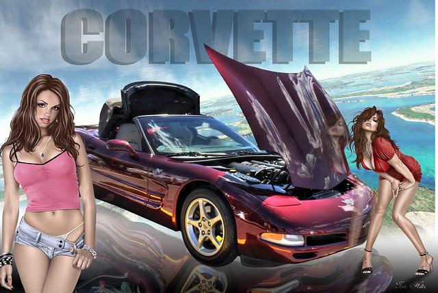 C5 Corvette Girls