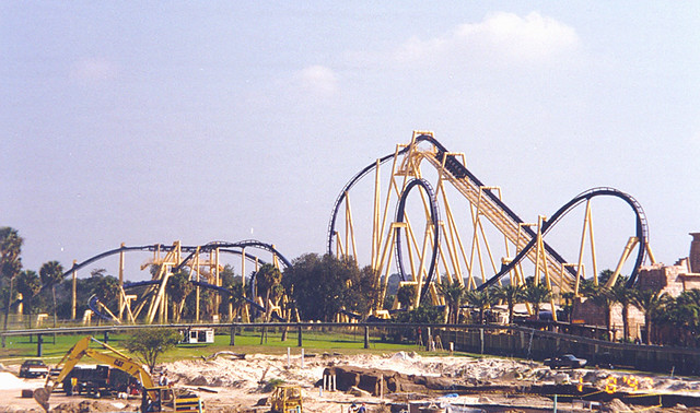 Busch gardens montu roller coaster flickr photo - Roller coasters at busch gardens ...