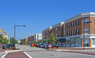ODU Student Housing Streetscape Norfolk