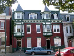 House with Green Trim in Hagerstown