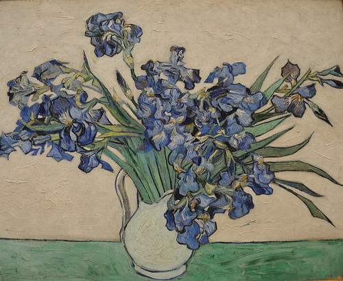 Vincent van Gogh - Irises at New York Metropolitan Museum of Art