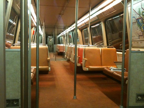 Got a train car all to myself tonight