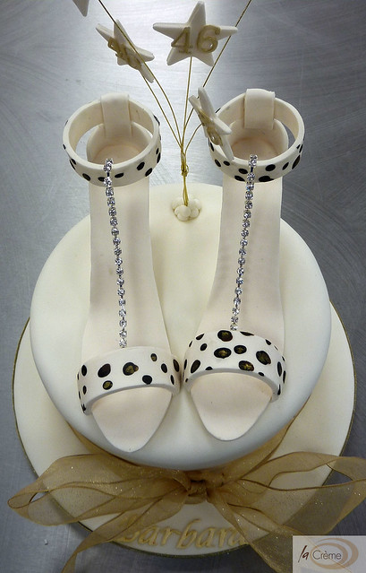 Shoe Birthday Cakes http://www.flickr.com/photos/24442051@N05/5414896827/