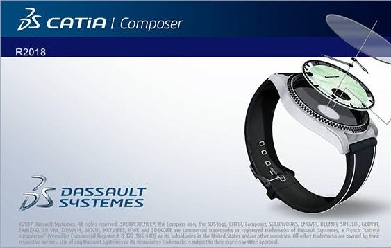 DS CATIA Composer R2018 x64 full crack