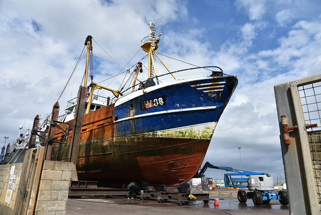 Fraserburgh Fishing Harbour Scotland 2017