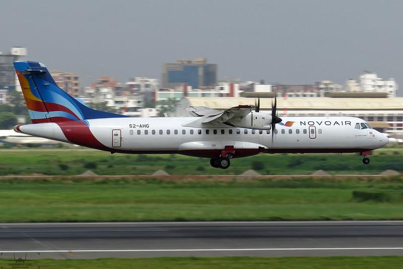 S2-AHG NovoAir ATR 72-500 (72-212A).