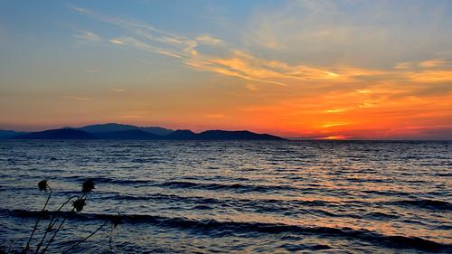 kuşadası aydın turkey sunset see selçuk ephesus ngc coastal güzelçamlı