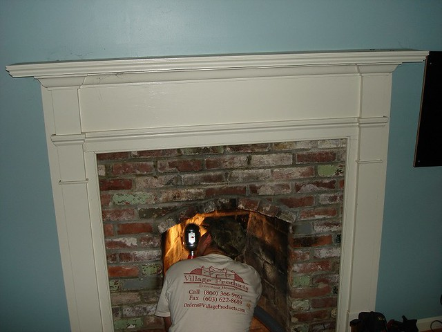 Gas Stove Chimney Liner Installation In Amherst Flickr Photo Sharing