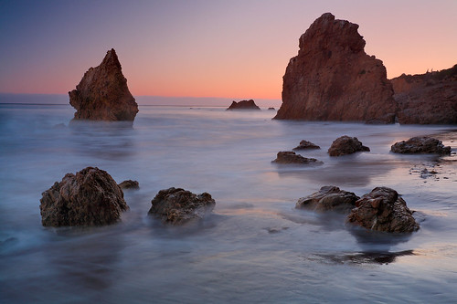 El Matador State Beach, Malibu Ca - Color Outer Space