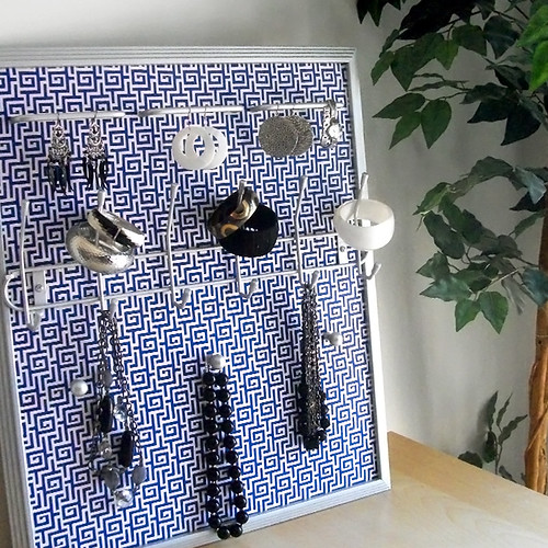 The Blueprint Jewelry Frame