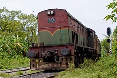 steam engine(0.0), freight car(0.0), electric locomotive(0.0), vehicle(1.0), train(1.0), transport(1.0), rail transport(1.0), locomotive(1.0), passenger car(1.0), rolling stock(1.0), track(1.0), land vehicle(1.0), railroad car(1.0),