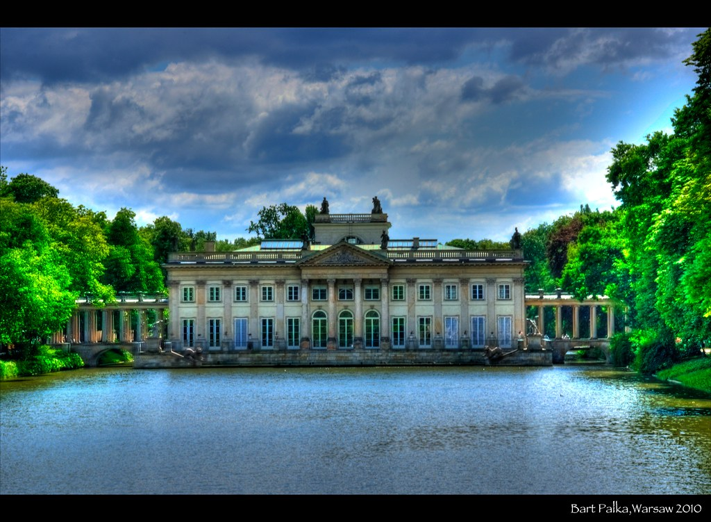Palace On The Water Lazienki Royal Parkwarsawpoland Flickr